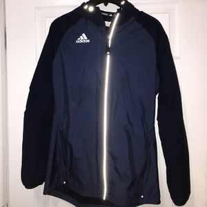 Adidas reflective windbreaker